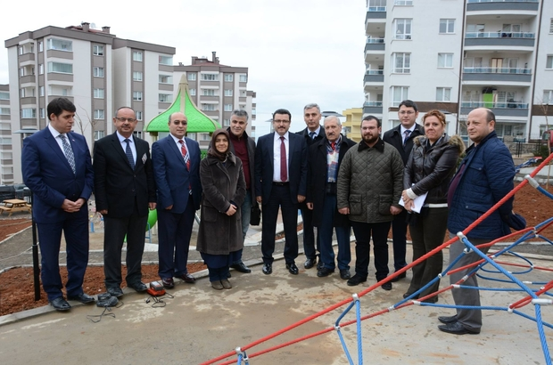 Ortahisar Belediyesi'nden çocuklar için yeni oyun parkları kuruluyor