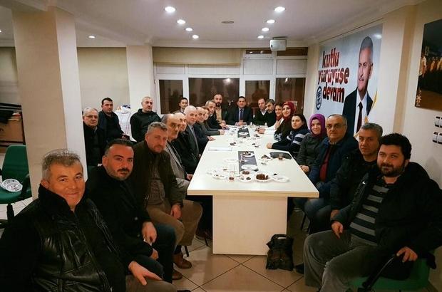 AK Parti ilçe teşkilatından istişare toplantısı