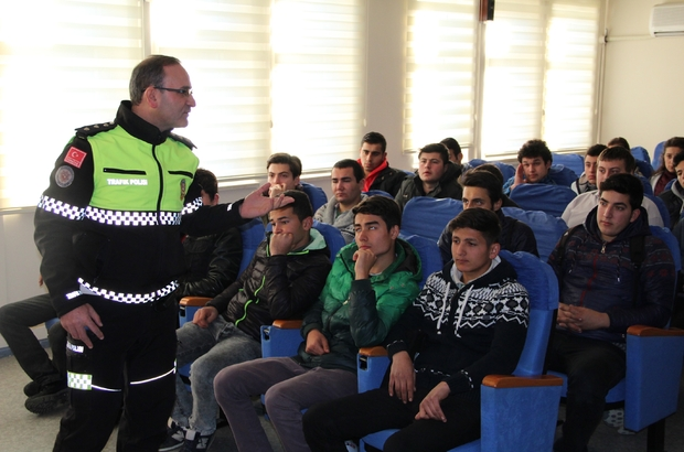 ethiye lise öğrencilerine trafik eğitimi