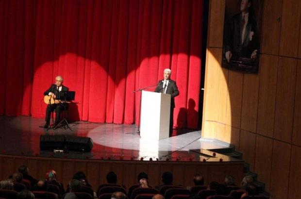 Şehitler anısına 'Erciyes Şiir Akşamları' programı düzenledi.