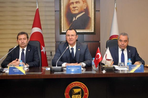 GSO yılın son meclis toplantısını yaptı