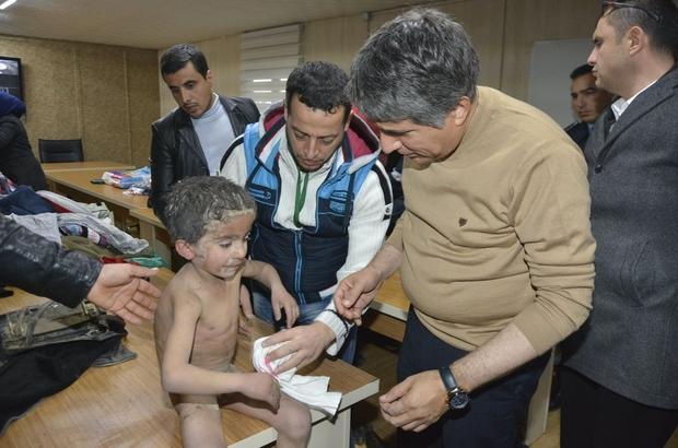 Başkan Yavuz'dan Telafer göçmenlerine destek