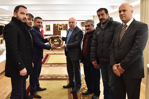 EHD'den Başkan Sekmen'e ziyaret