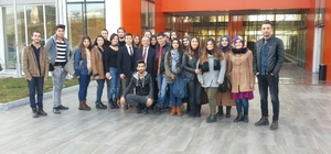 Üniversite öğrencileri OSB'yi gezdi