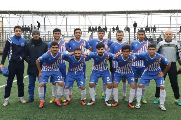 Samsat Belediyespor ilk yarıyı 3. sırada tamamladı