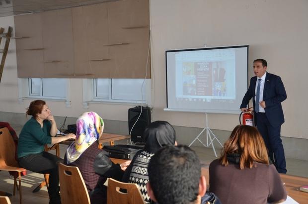 AFAD'tan KYK personeline eğitim