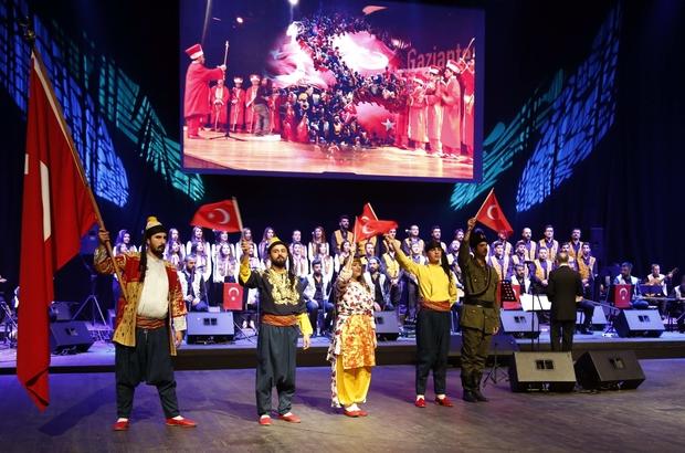 GAÜN'DE muhteşem Türk Halk Müziği gecesi
