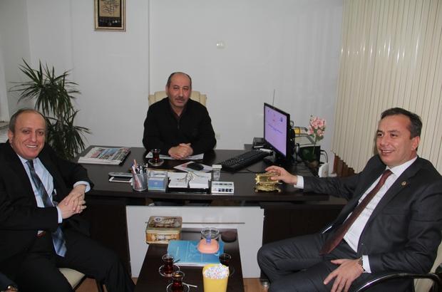 Ceylan ve Karadağ'dan İHA'ya ziyaret
