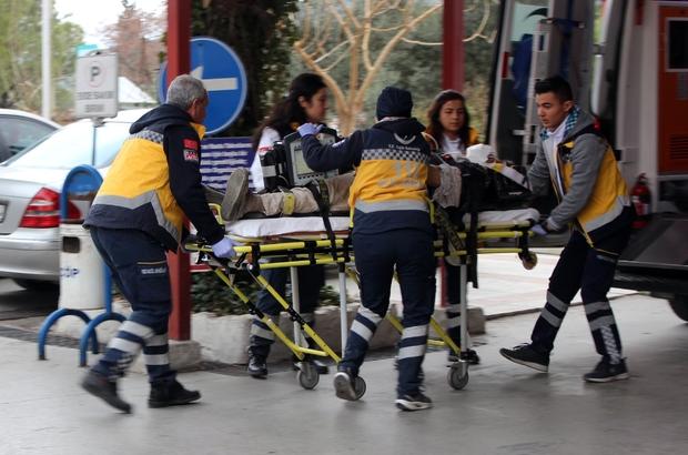 Çatıdan düşen işçilerden birisi öldü