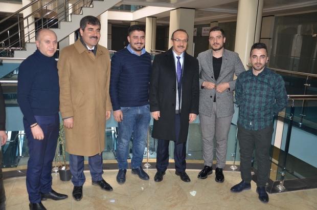 Vali Yavuz ve Başkan Asya'dan esnaf ziyareti
