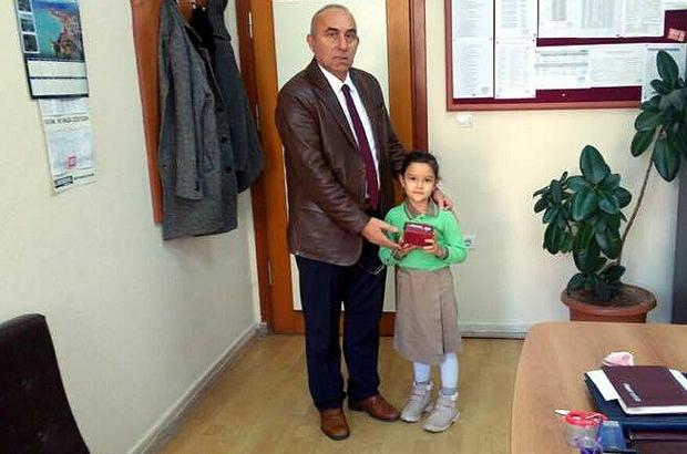 Küçük Gülefşan, biriktirdiği harçlığını Halep'e gönderdi