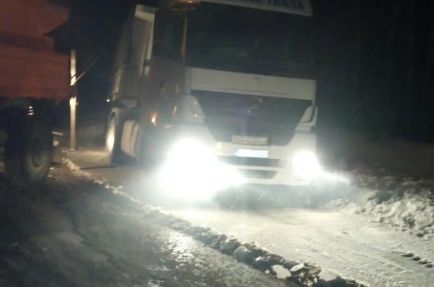 Büyükşehir'den karla mücadele çalışmaları