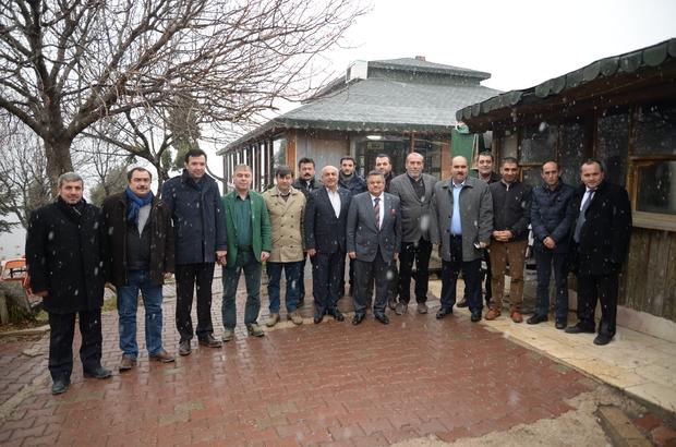 Başkan Yağcı TSO üyeleriyle buluştu