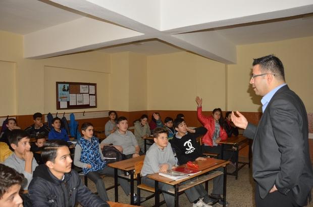 Öğrenciler cinsel istismar ve bağımlılık hakkında bilgilendirildi