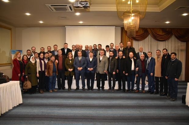 Başkan Çerçi'den AK Parti teşkilatıyla buluşma