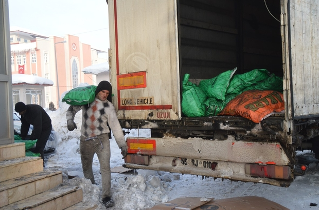 Eleşkirt'ten Halep'e yardım