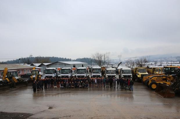 Adapazarı Belediyesi karla mücadeleye hazır