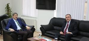 Başkan Alemdar'dan Kaymakam'a ziyaret