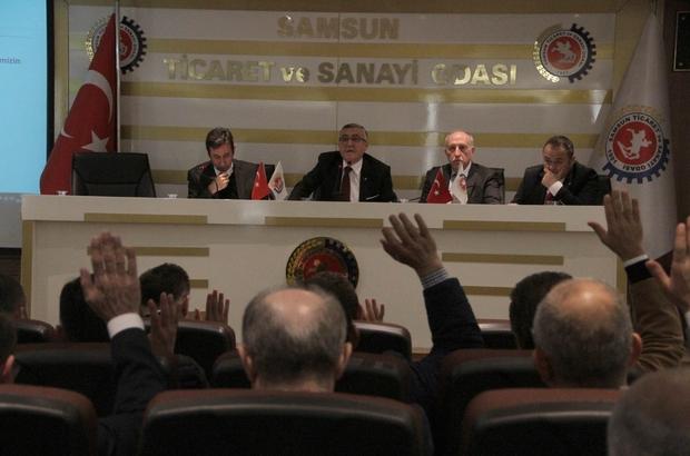 Samsun TSO meclis toplantısı