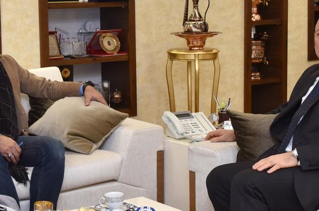 Güvenlik Politikaları Uzmanı Yarar'dan Başkan Sekmen'e ziyaret