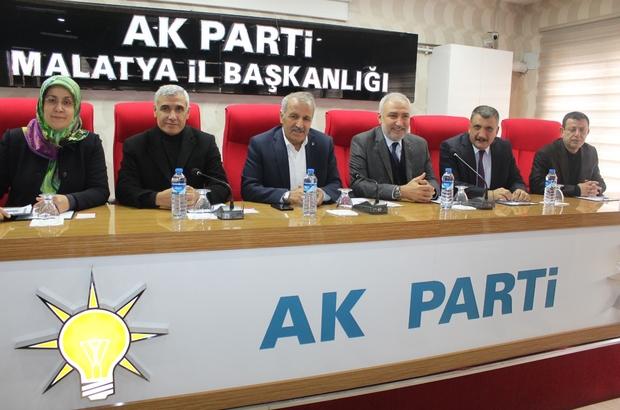 Battalgazi ilçe danışma toplantısı gerçekleştirildi