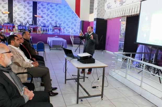 Ergani'de Diyarbakır'ın manevi değerleri anlatıldı
