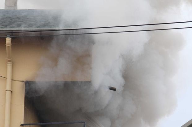 Fethiye'de Ev Yangını Korkuttu