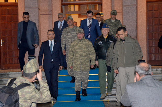 Genelkurmay Başkanı Orgeneral Akar, Malatya'da