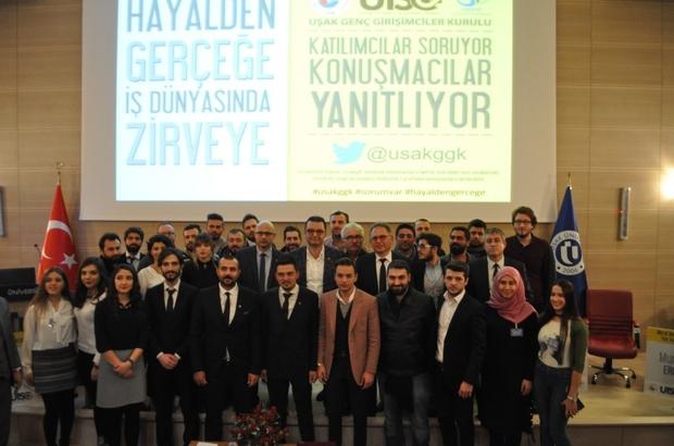 Uşak'ta üniversitelilere girişimcilik paneli