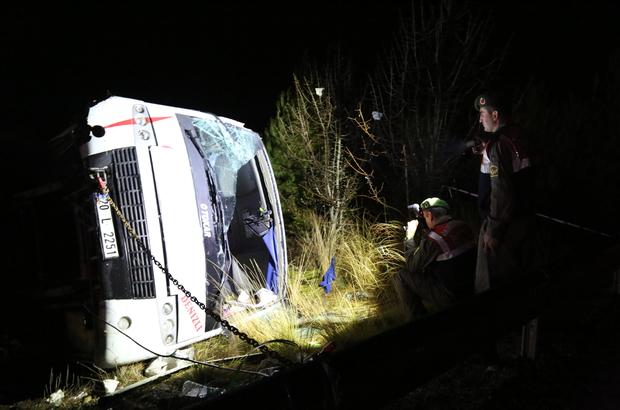 Denizli'de trafik kazası: 16 yaralı