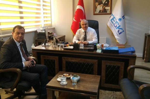 Muratlı Belediye Başkanından Genel Müdür Başa'ya ziyaret