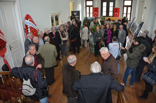 Mehmet Çevik Fotoğraf Sergisi Süleymanpaşa Belediyesi Tarihi Bina'da açıldı