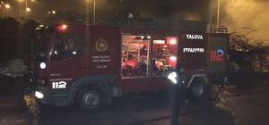 Yalova'da kivi deposunda yangın