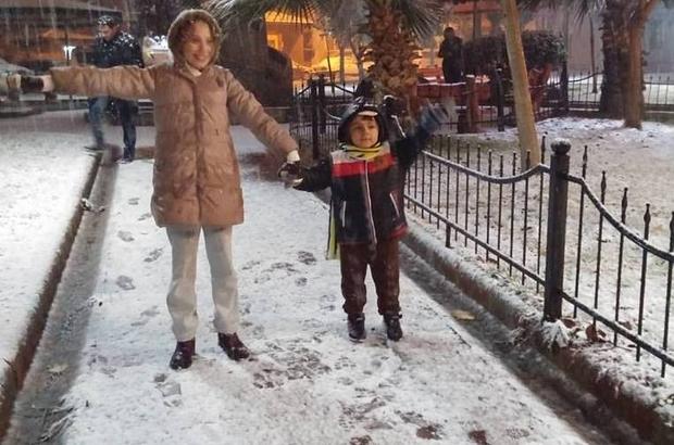 Alaşehir'de okullar bir gün tatil