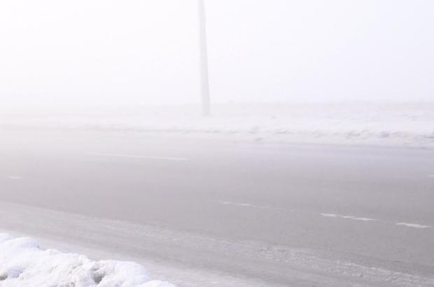 Doğubayazıt'ta yoğun sis