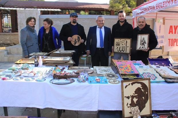Toplum Ruh Sağlığı hastalarının eserleri satışa çıktı