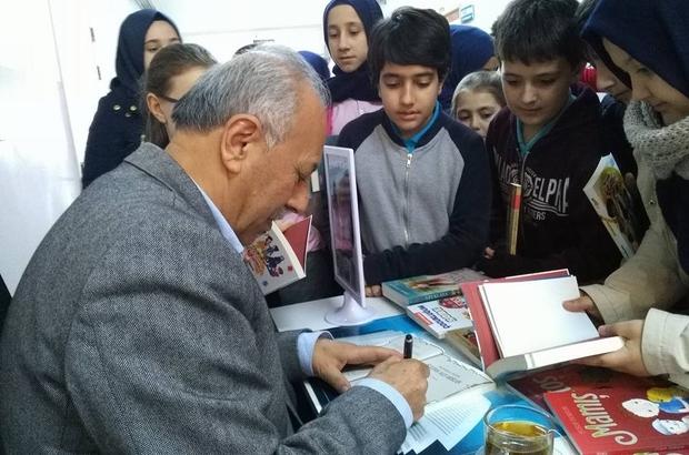Süleymanpaşa İmam Hatip Ortaokulu'nda kitap festivali düzenledi