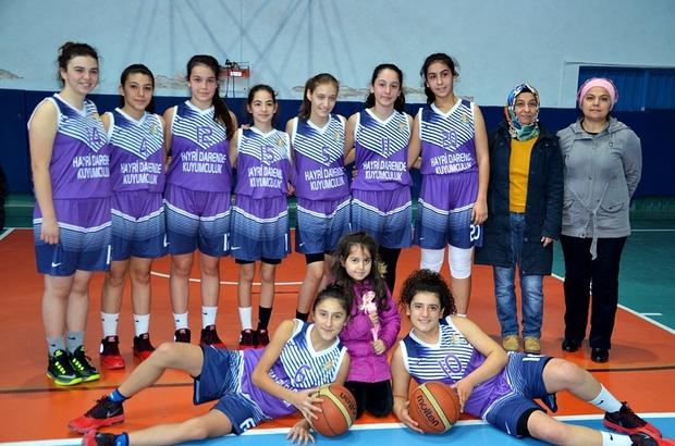 Basketbol U-16 Yıldız Kız Mahalli Lig Maçları Tosya'da devam ediyor
