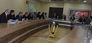 Siirt'te Ilısu Barajı ve HES Projesi değerlendirme toplantısı yapıldı