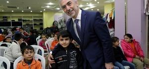 Kağıthane Belediyesi Halepli çocukların yüzünü güldürdü