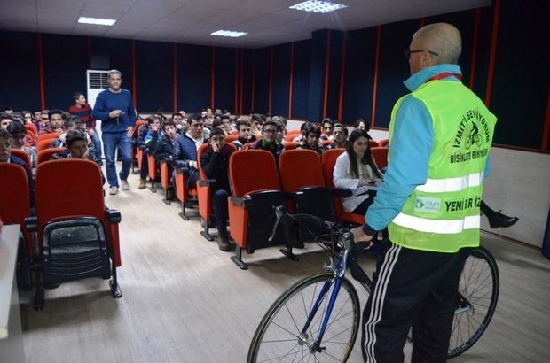 İzmit'te bisiklet eğitimleri sürüyor