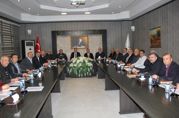 GTB'DE yılın son meclis toplantısı yapıldı