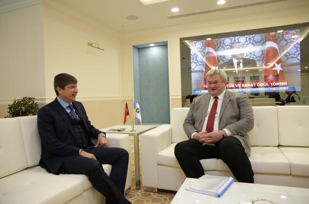Ukrayna Büyükelçisi'nden Başkan Türel'e ziyaret