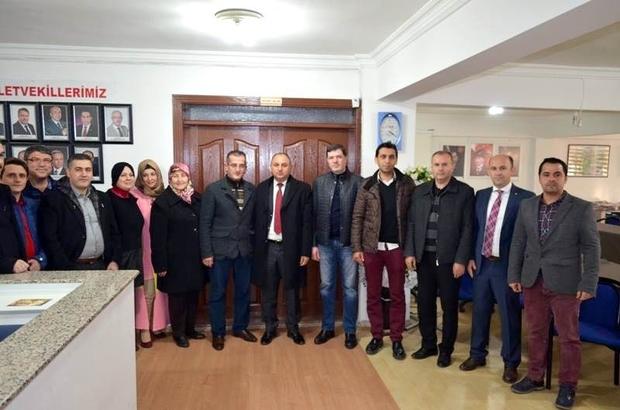 Borsa'dan AK Parti'ye hayırlı olsun ziyareti