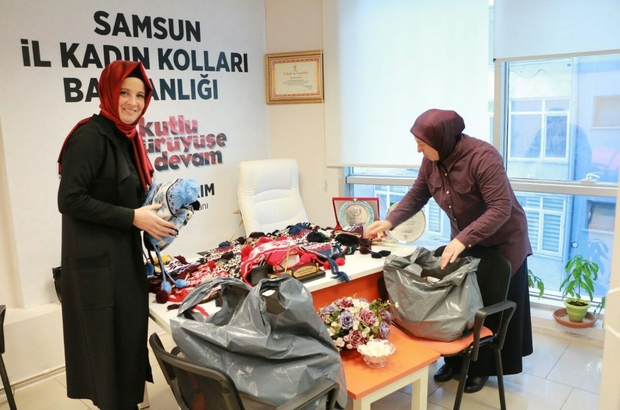 AK kadınlardan küçük yürekleri ısıtan proje