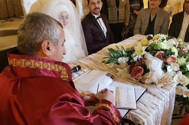 Körfez Belediyesi bin 200 çifti evlendirdi