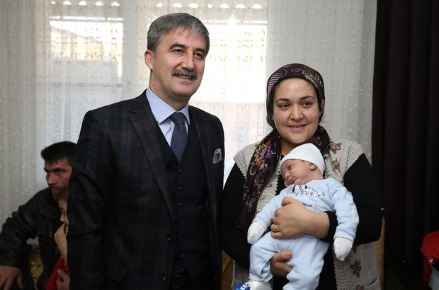 Turgutlu'da 2016 yılında bin 884 bebek dünyaya geldi