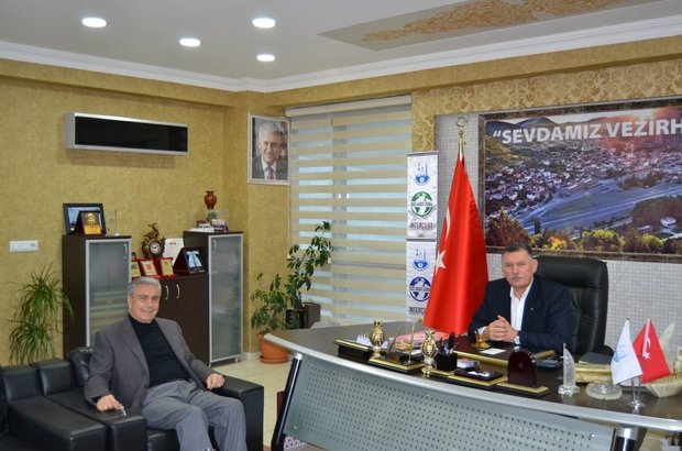 Müdür Sükan'dan Başkan Duymuş'a ziyaret