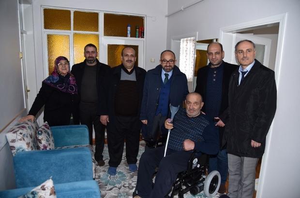 Başkan Üzülmez'den engelli vatandaşlara yeniyıl hediyesi