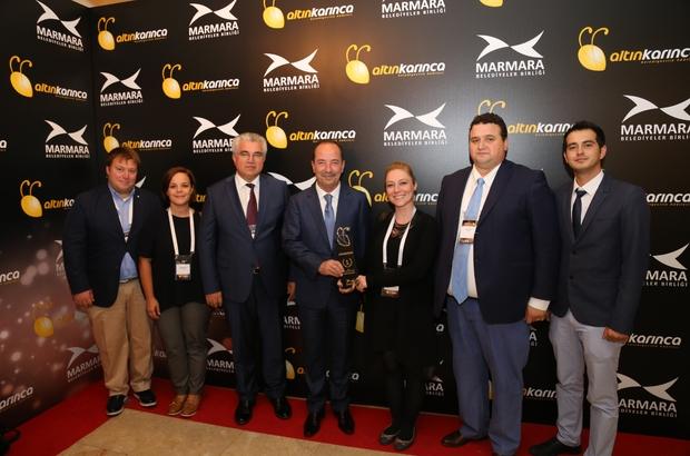 Edirne Belediye Başkanı Gürkan'a bir ödül daha